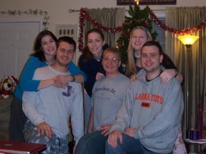 Brittany & Bill Wendell, Emily & Chris Burkhart, Me & Aaron