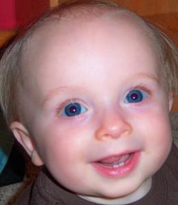 Micah Blue Eyed Baby