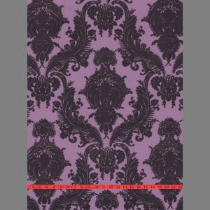 purple damask wallpaper thorn in my heart